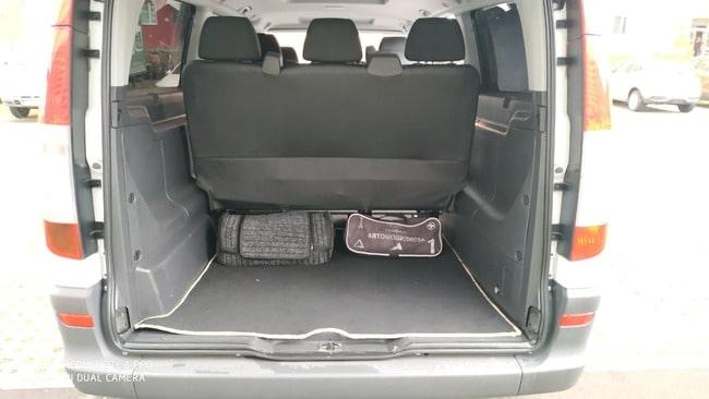 фото багажника мерседес вито 8 мест