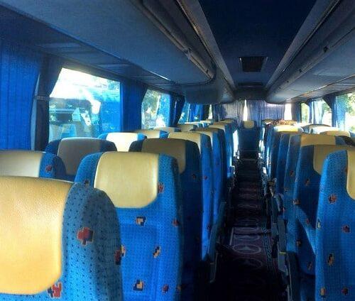 фото салона автобус мерседес туризмо 55 мест