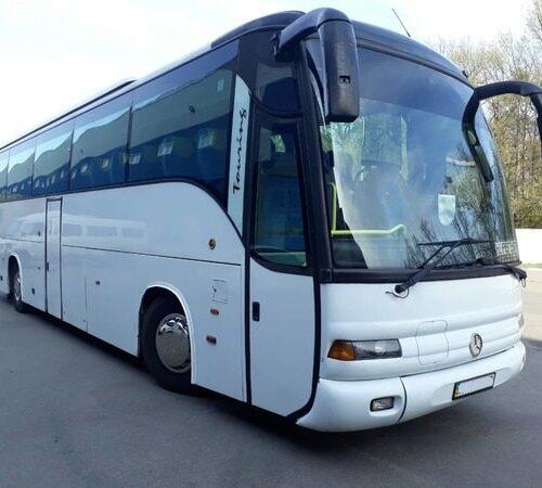 автобус мерседес туризмо 55 пассажирских мест аренда с водителем