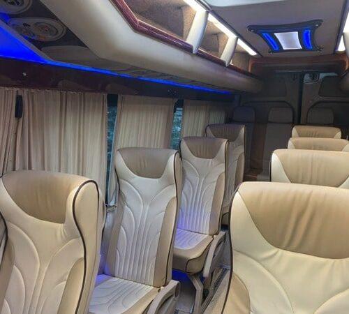синий микроавтобус мерседес спринтер 21 мест фото салона 2