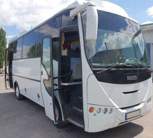аренда автобуса 30 мест ивеко белый