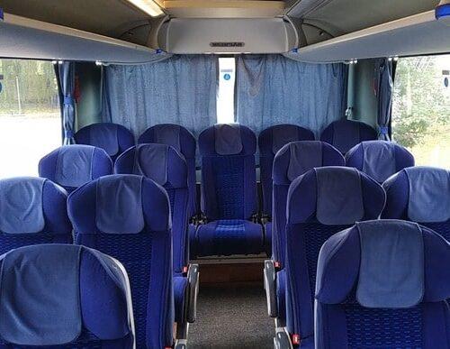 автобус неоплан 58 мест фото салона