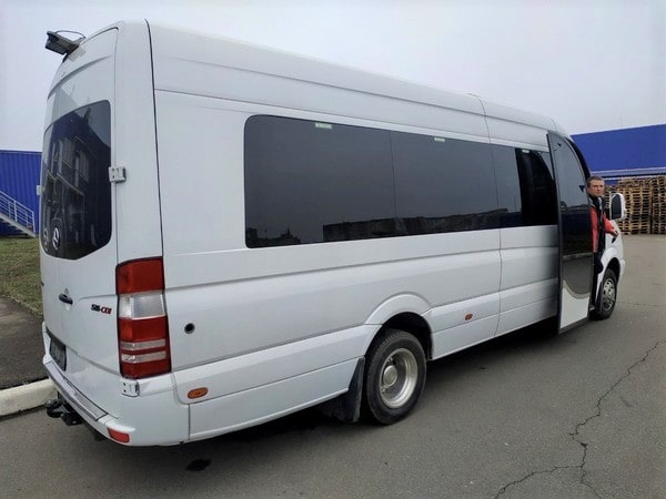 аренда микроавтобуса мерседес спринтер киев