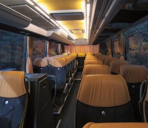 салон автобуса мерседес травего 50 мест