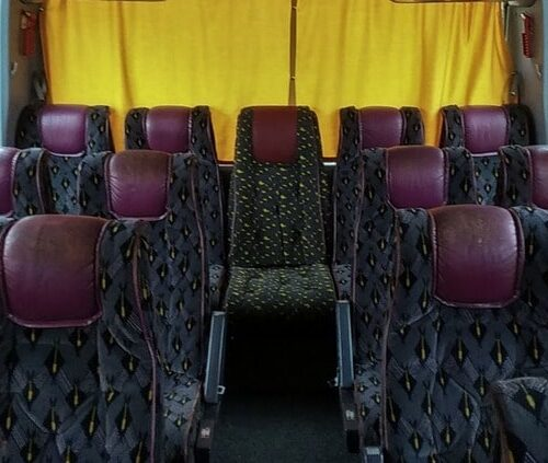 автобус мерседес О 404 35 пассажирских мест фото салона