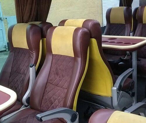 фото салона мерседес О 404 белый автобус