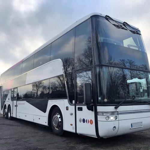 аренда двухэтажного автобуса ванхул 75 мест киев