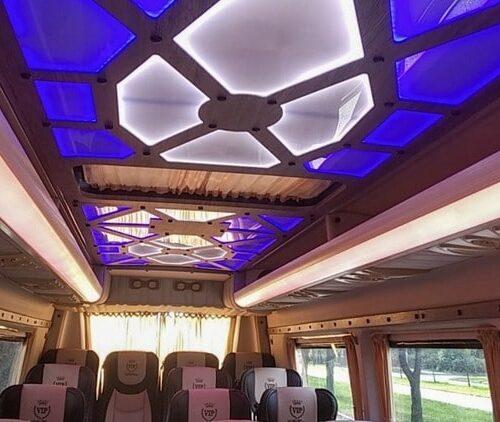 фото салона вип микроавтобус мерседес 21 мест