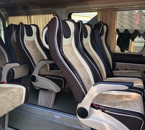 черный мерседес спринтер 18 мест фото салона микроавтобуса