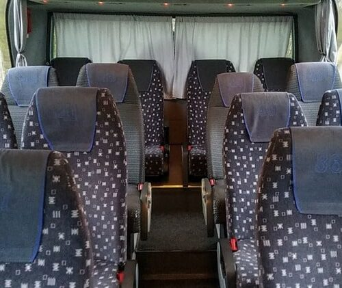 салон автобуса неоплан 48 мест