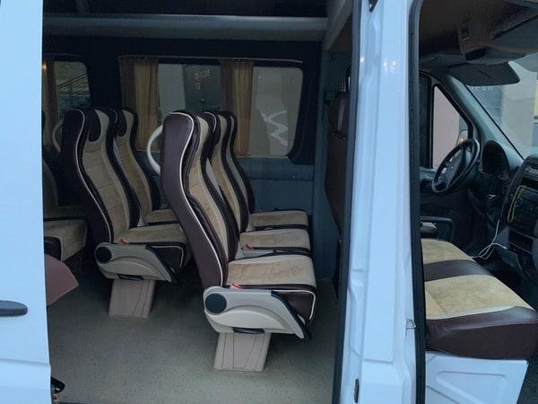 микроавтобус мерседес спринтер 18 мест фото салона задние сиденья
