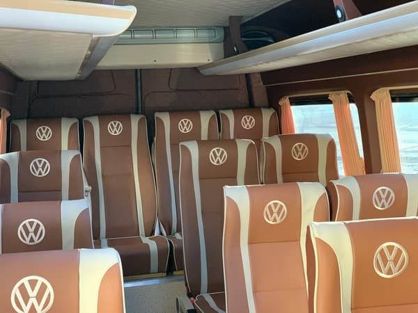 микроавтобус фольксваген крафтер 18 мест фото салона