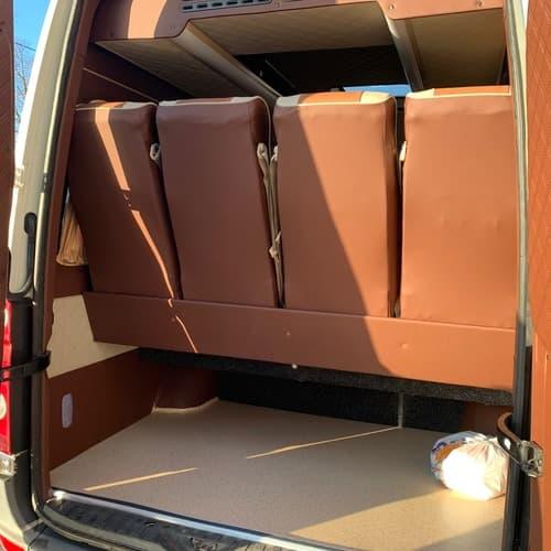 микроавтобус фольксваген крафтер фото багажника