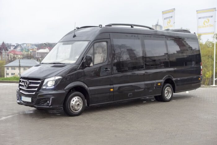 Mercedes Sprinter luxury black