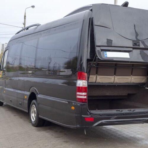 микроавтобус мерседес спринтер 24 мест черный