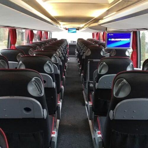 аренда двухэтажного автобуса сетра фото салона первый этаж