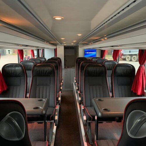 двухэтажный автобус сетра 78 мест фото салона первый этаж