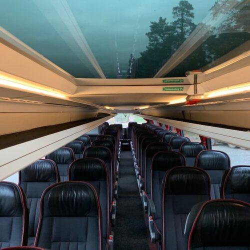двухэтажный автобус сетра 78 мест фото салона второй этаж