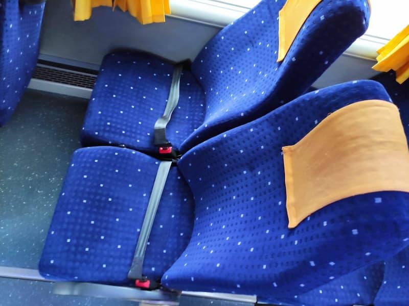 фото салона автобус MERCEDES SUNRIDER 32 мест