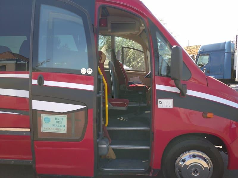 аренда красный автобус 33 места MERCEDES SUNRIDER
